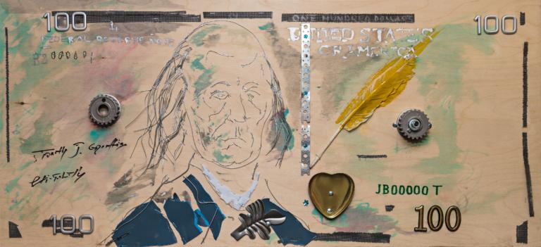 Выставка Петра Быстрова «На все сто»